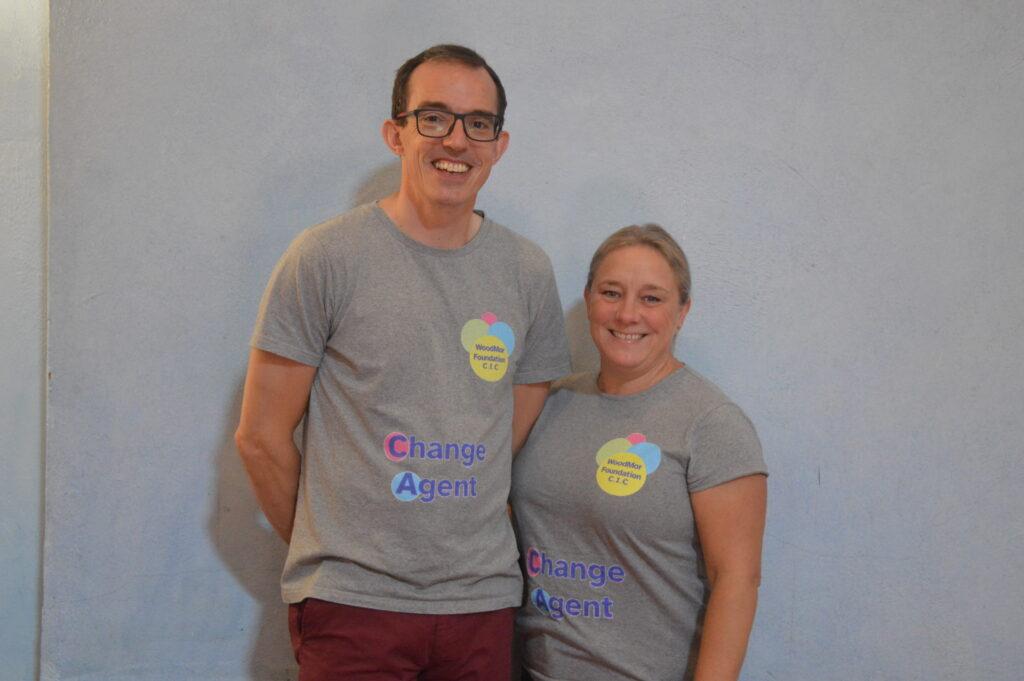 Matt and Clare Woodmor T-shirts