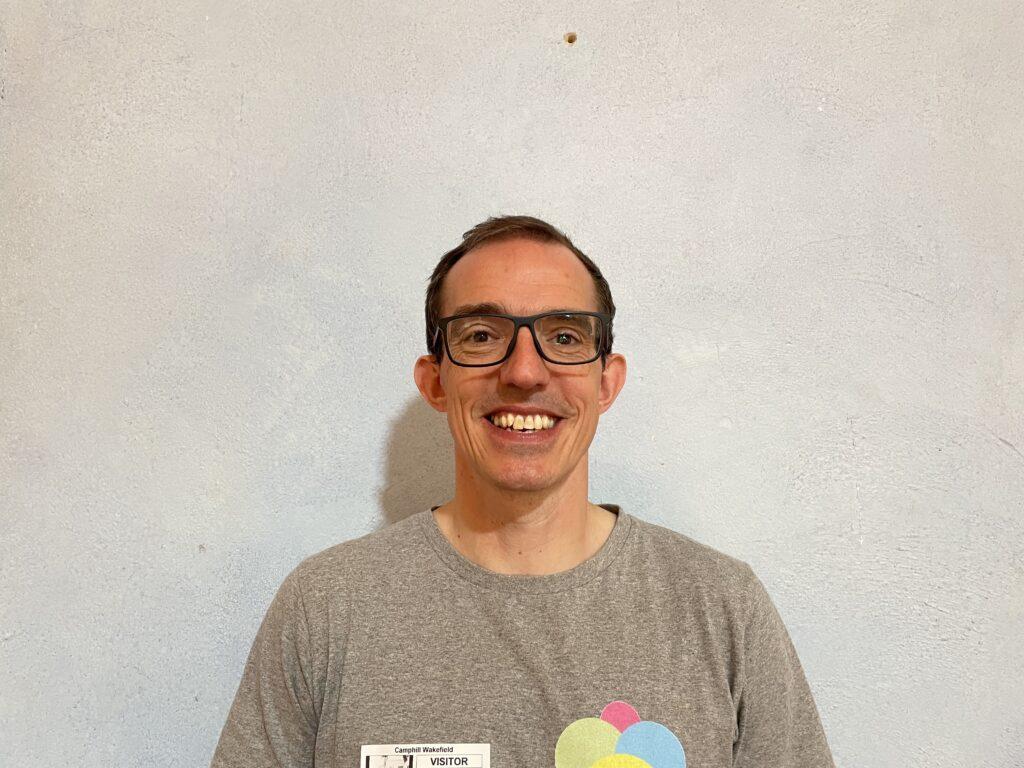 Matt in Woodmor T portrait